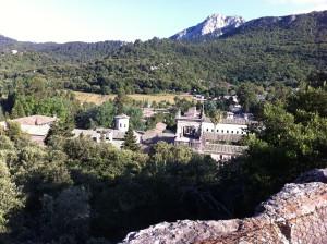 Kloster Lluc in den Bergen Mallorcas